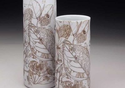 Botanical Rap Vases, 2012