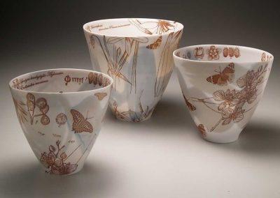 3 Botanicals Bowls, 2013