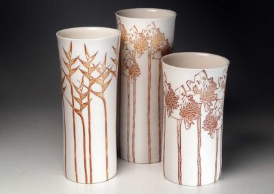 Three Tropicals Vases, 2013