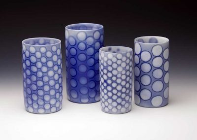 Group of spotted Vases, 2014