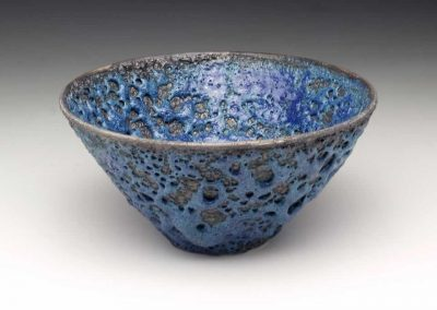 Blue Crater Glazed Bowl, 2013