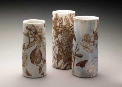 3 Botanicals Vases,2013