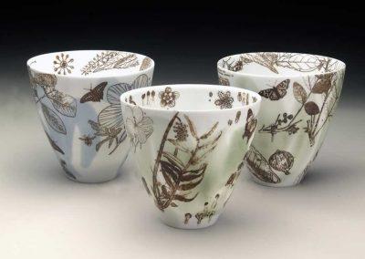 3 Botanicals Bowls, 2014