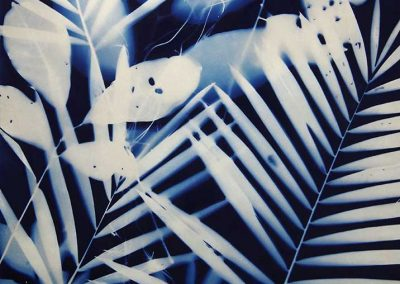 Tropical Blue 75cm x 55cm