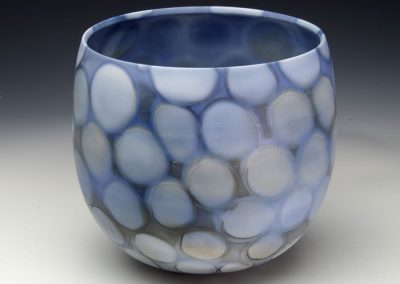 Blue in Motion series - 16 cm D x 14 cm H